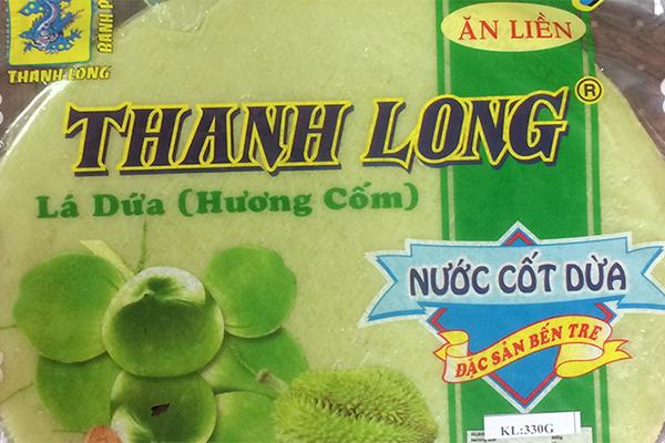 Bán Tráng Sữa Lá Dứa Thương Hiệu Thanh Long