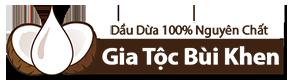 Dầu Dừa Gia Tộc Bùi Khen Bến Tre 100% Nguyên Chất