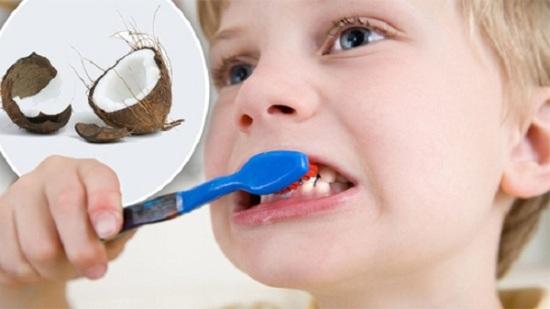 Trị Bệnh Sâu Răng Bằng Cách Nhai Và Súc Miệng Với Dầu Dừa