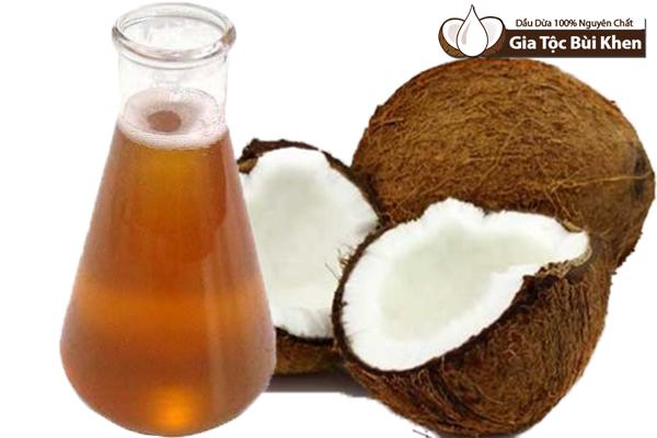Dầu dừa thô